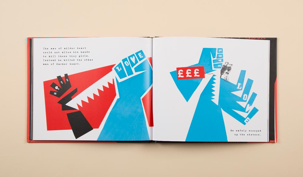 Collage children's book