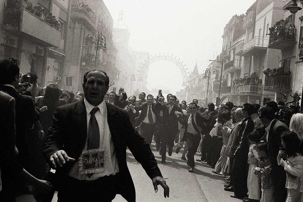 Sicily photo black and white