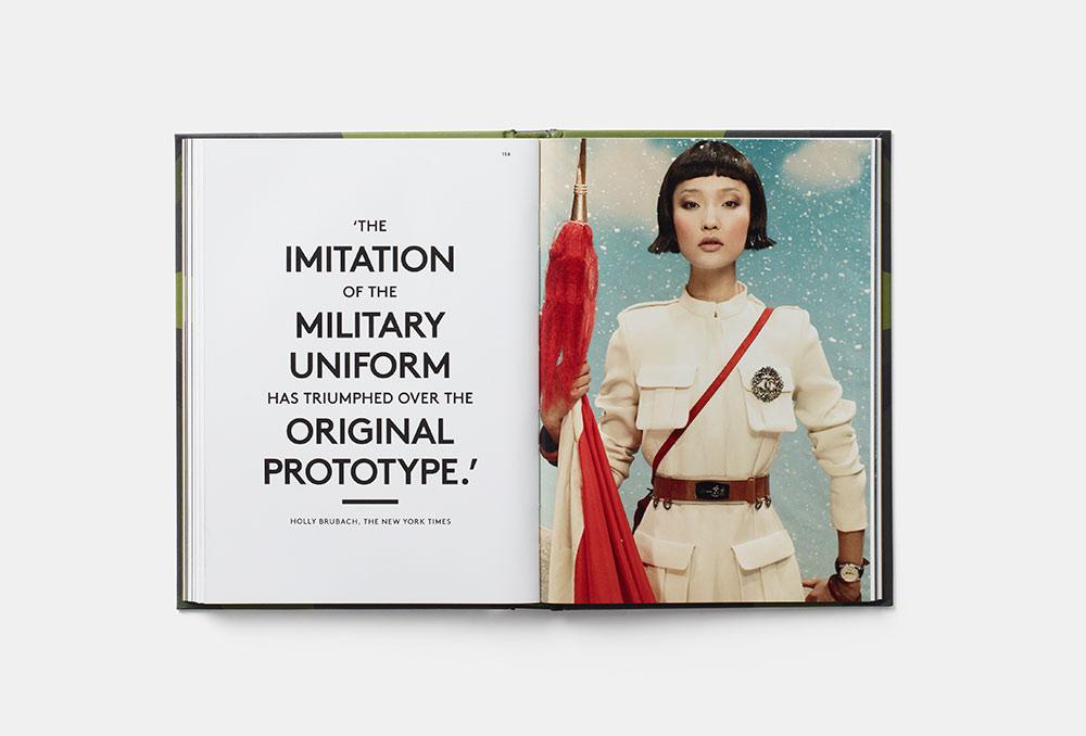 military fashion design book