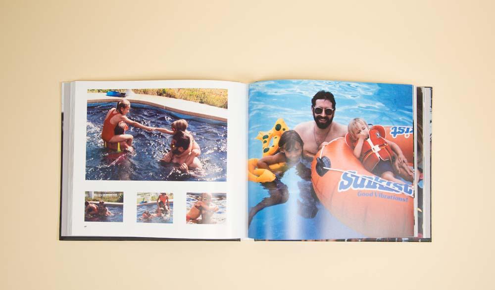 Family Photo Book: Mia Familia