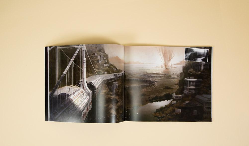 science fiction concept art book