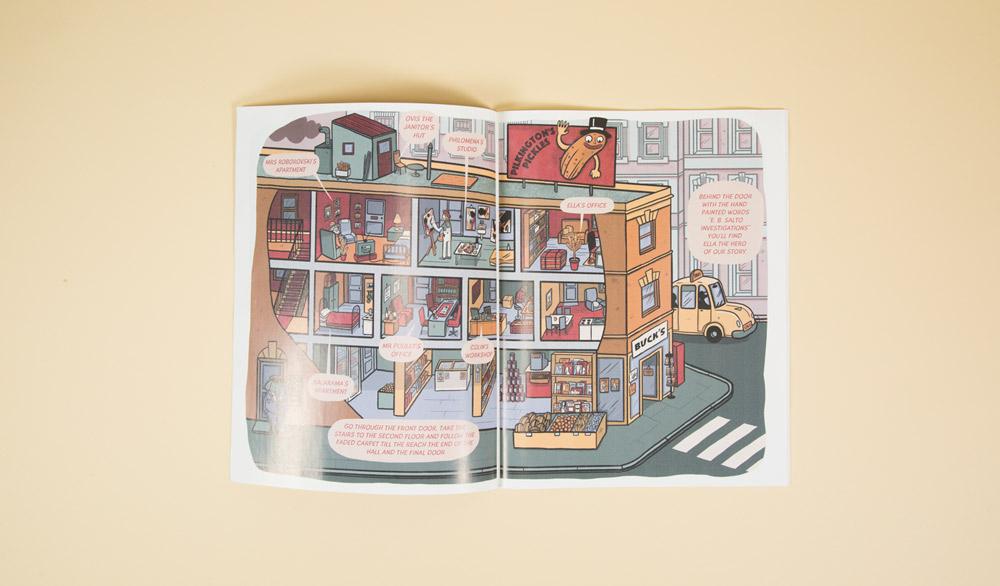 rabbit detective children's book