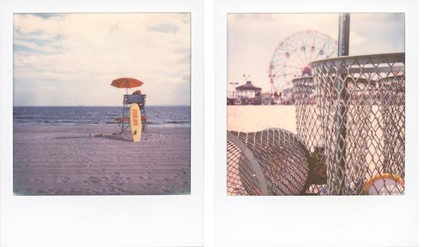 Coney Island Polaroid