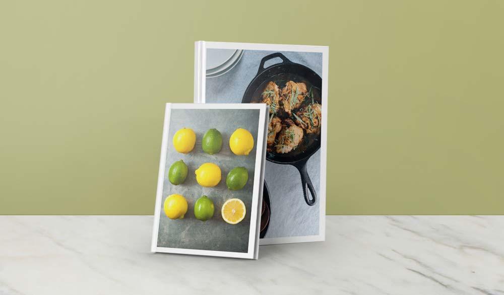 Cookbook Trim Sizes