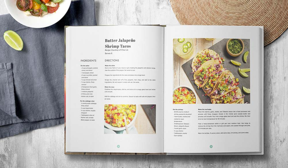 10 tips for creating a cookbook