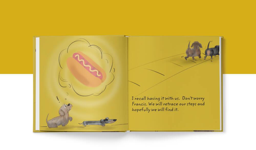 Children's book, Portfolio, Behind the Book, BookWright