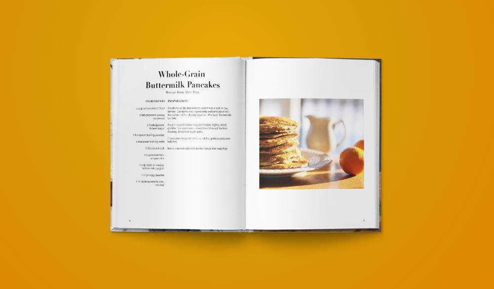 Wholegrain Buttermilk Pancakes Recipe